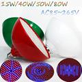 15W 40W 50W 80W Red Blue LED Plant Grow Light Lamps E27 E40 SMD3528 AC85 265V