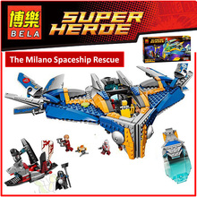 BELA 10251 Compatible Legoes Super Heroes Figures Avangers The Milano Spaceship Rescue 76022 Building Brick Toy For Children(China (Mainland))