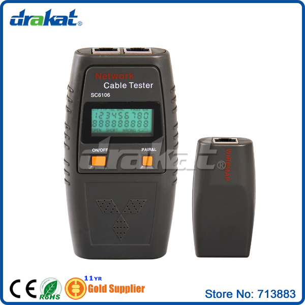 High quality Cable tester RJ45 LCD(China (Mainland))
