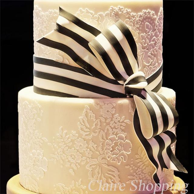 Cake Stencil Flower And Leaf Cake Decorating Tools Wedding Cake