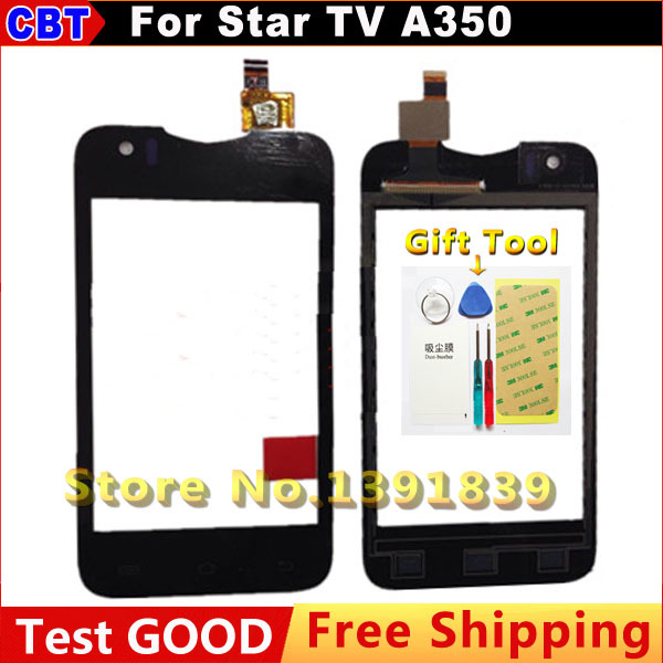 100% New Original Explay A350TV A360TV Touch Screen For Star TV A350 Capacitive Touch Screen digitizer + Tool + Free Shipping
