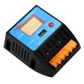 PWM 10A 12V 24V Solar Panel LCD Charger Controller USB Charging for Phone Battery Regulator Safe