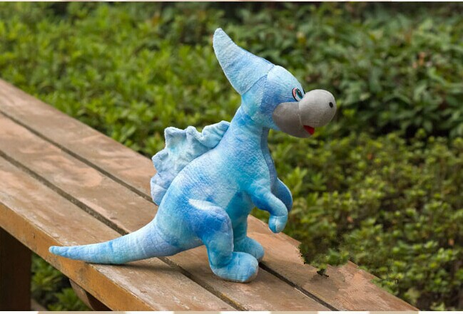lovely Unicorn dragon toy simulation blue dinosaurs toy doll gift about 50cm(China (Mainland))