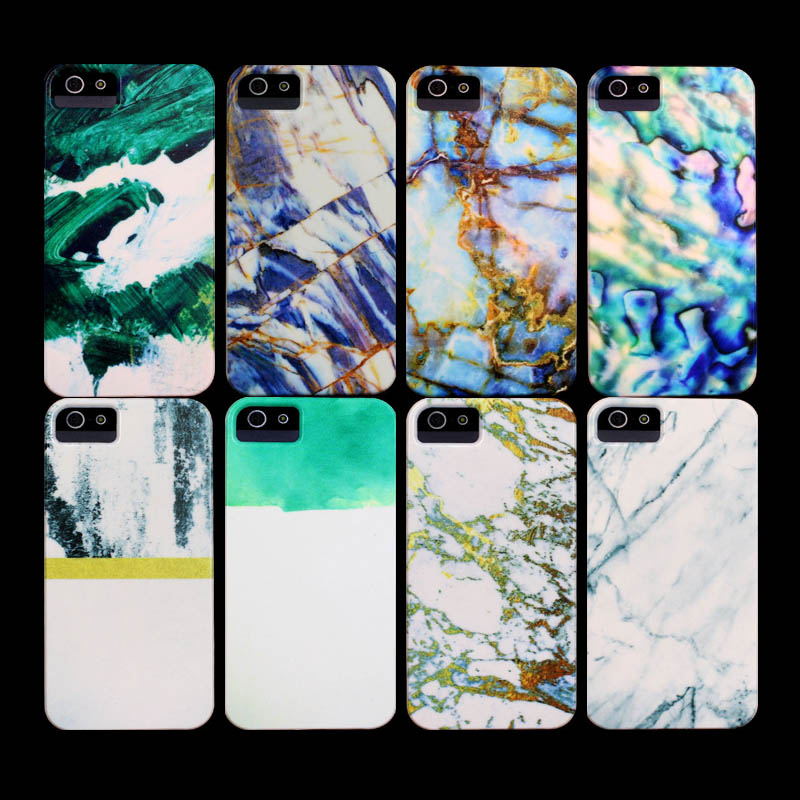 The marble Pattern Case for iPhone 4 Case for iphone 4s Cover(China (Mainland))