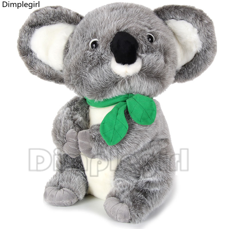 kawaii plush koala bear stuffed animals cute kids toys for children baby girl novelty birthday gifts idea,19cm(China (Mainland))