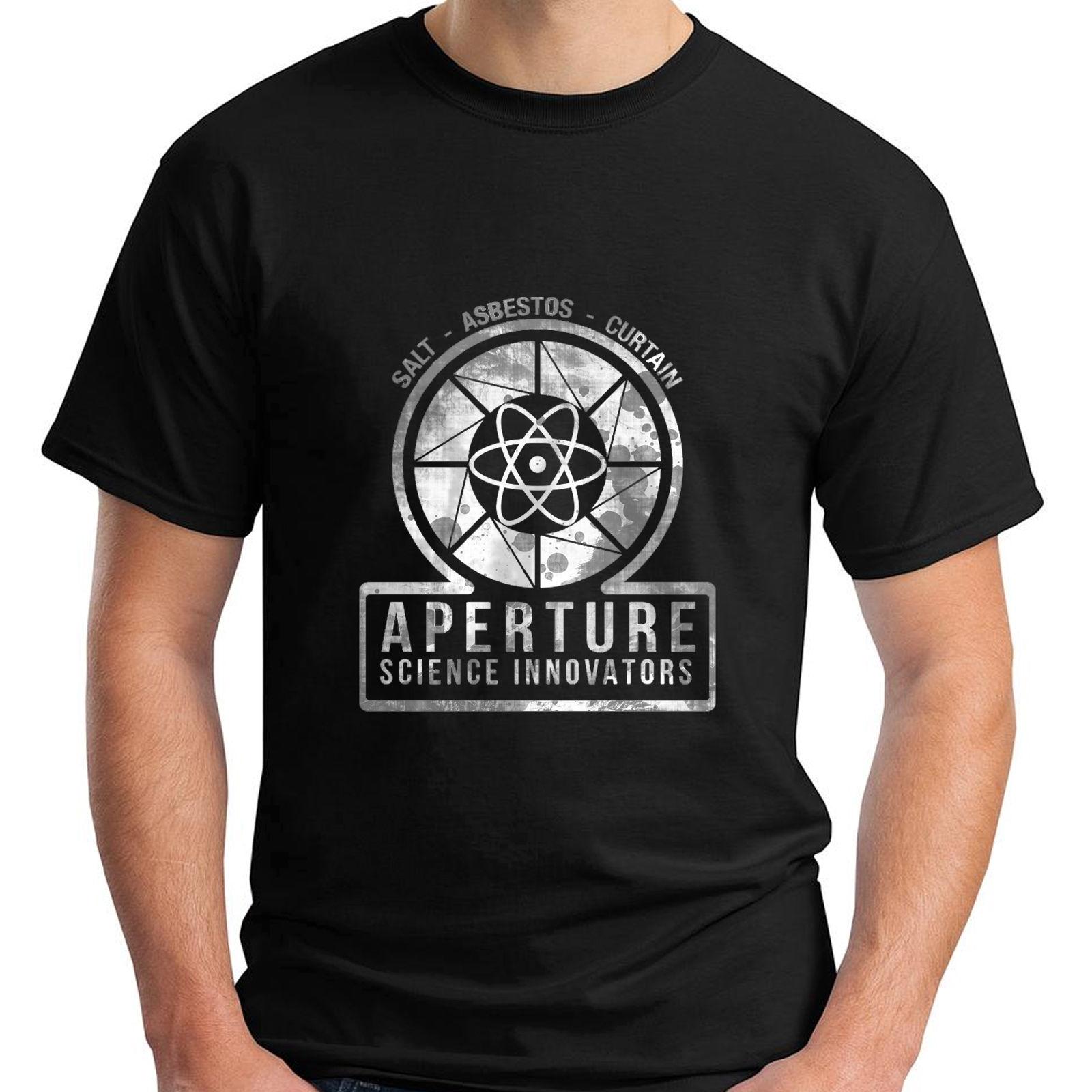 Shirt design lab - 2017 Men S Vintage Aperture Science Innovators Laboratories Game Portal Design Men S T Shirts 100 Cotton