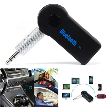 Универсальный 3.5 мм Потокового Автомобиля A2DP Беспроводной Bluetooth Car Kit AUX Аудио Музыка Приемник Адаптер Handsfree с Микрофоном Для Телефона MP3