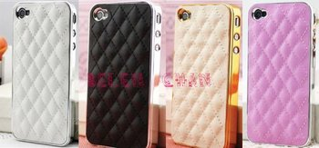 New design High quality cell phone Leather case for iphone4/4s,sheep leather case for ip4/4s,free shipping