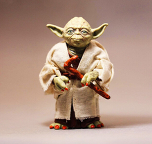 NEW hot 12cm Star Wars 7: The Force Awakens Jedi Knight Master Yoda action figure toys Christmas gift(China (Mainland))