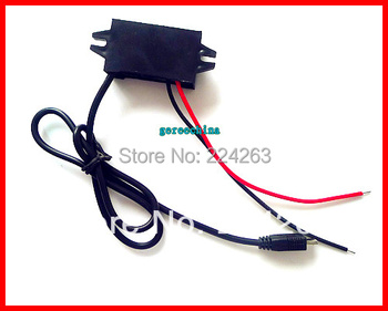 100pcs/lot Micro USB output DC Step down Converter Module 12V (8-20V) convert to 5V Buck power adapter for phone