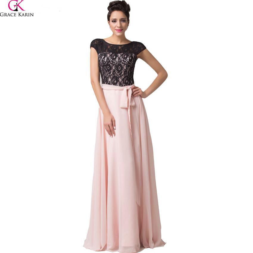 Grace Karin New Designer Cap Sleeve Vintage Cheap Evening Dress Lace-up Back Backless Long Prom Dress CL6152(China (Mainland))