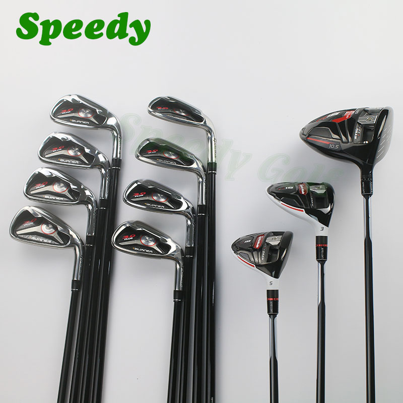 2015 Complete golf clubs R15 driver + R15 fairway woods 3# 5# + Rsi1 Rsi 1 irons set (4-9#PAS) + ghost spider putters(China (Mainland))
