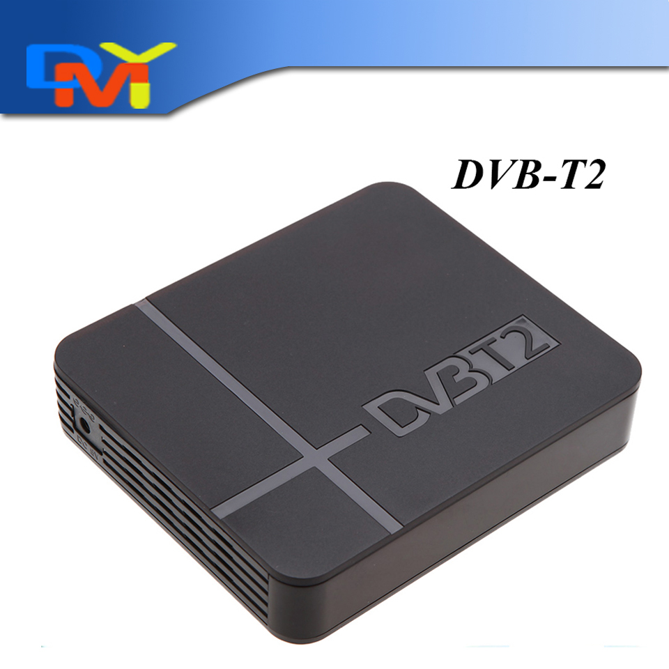 RUSSIA/EUROPE/THAILAND DVB T2 Tuner MPEG4 DVB-T2 HD Compatible With H.264 TV Receiver W/ RCA / HDMI PAL/NTSC Auto Conversion(China (Mainland))