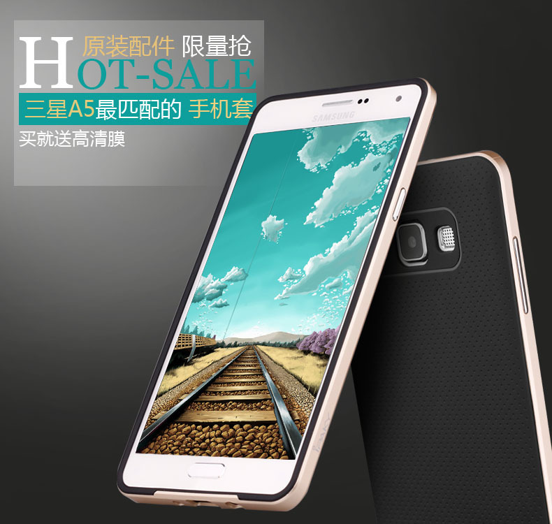 Здесь можно купить  2015 New hot 10pcs Luxury High quality 100% original ipaky brand silicone tpu+pc cover case for Samsung Galaxy A5 A5000  Телефоны и Телекоммуникации