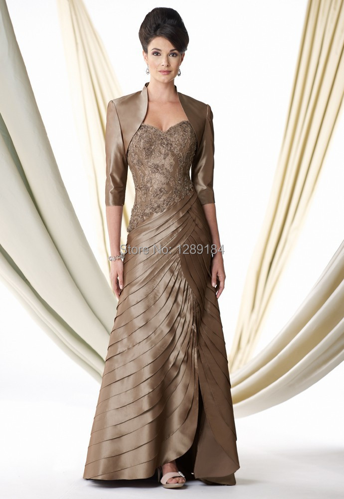 2015 winter blue grey lace sweetheart long mother of the for Dresses for mother of the bride winter wedding
