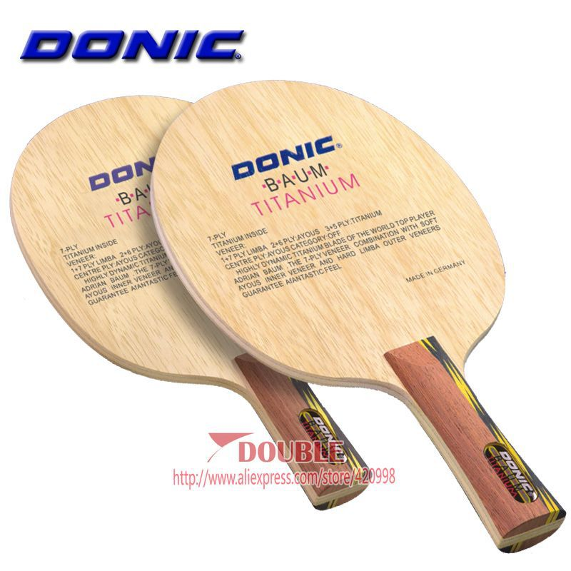 Donic baum crisan titanium table tennis ping pong racket blade new in table tennis rackets from for Table tennis 6 0