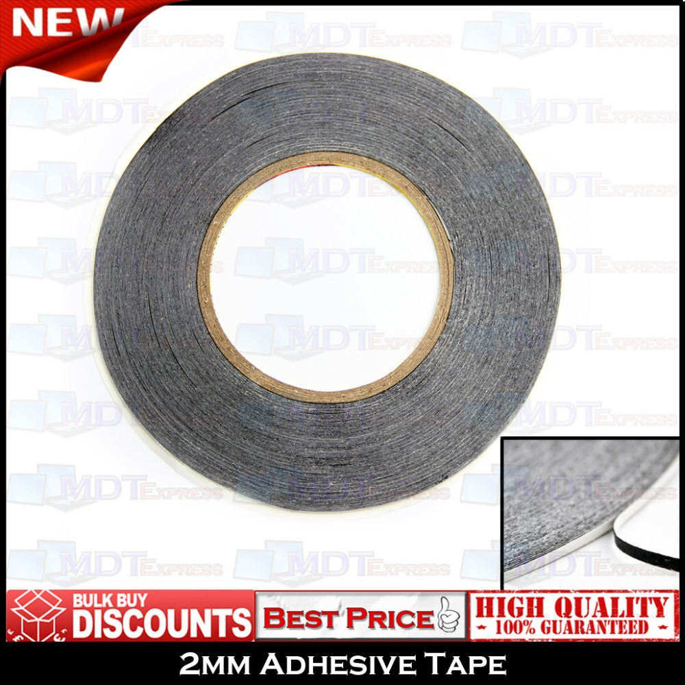 New! 2mm 50m Double Sided Adhesive 3M Glue Sticker Strip Tape Repairing Repair Replace Touch Screen LCD for Any Mobile Phone(China (Mainland))