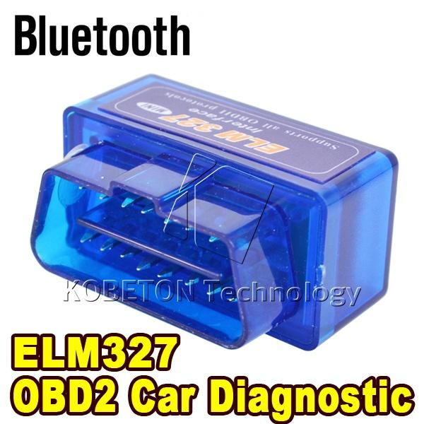 Bluetooth Mini ELM327 Interface Code Readers ELM 327 V2.1 Auto Diagnostic Scanner Tool ODB2/OBDII Protocols Android Torque/PC(China (Mainland))