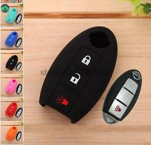 Accessories FIT FOR NISSAN SMART KEY ROGUE QASHQAI JUKE TIIDA VERSA MURANO LEAF PATHFINDER 370Z REMOTE HOLDER CASE COVER(China (Mainland))