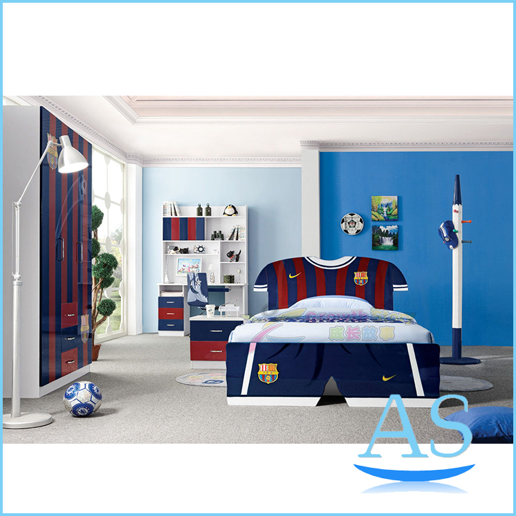 Modren Hot Sale Kids Bedroom Furniture Children Bedroom Set K350 1 In