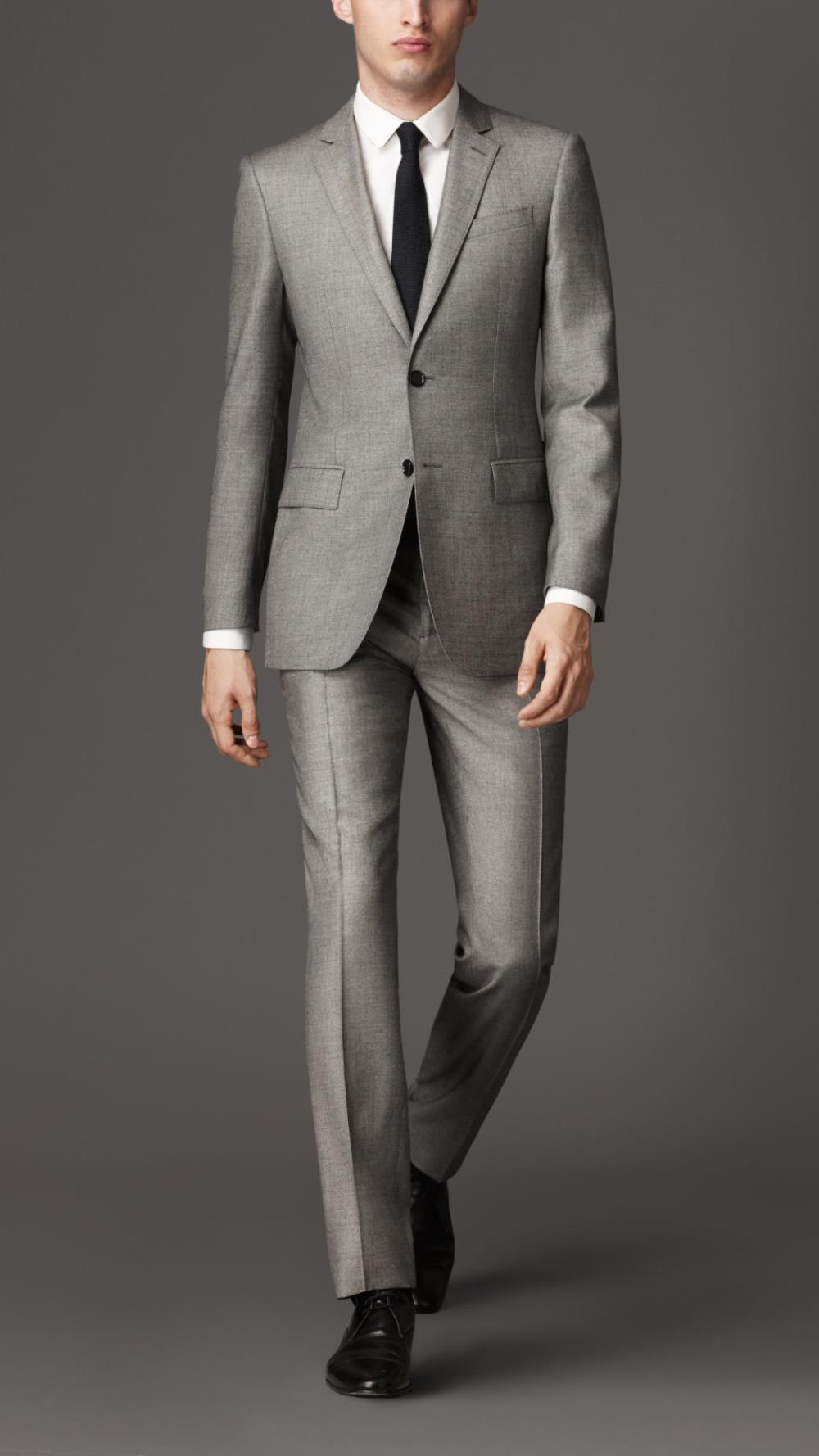 2014 new fashion wedding suits for men modern fit virgin