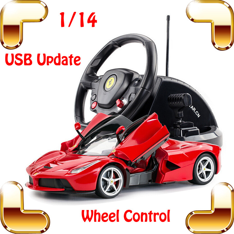 New Arrival Gift 1/14 RC Large Racing Roadster Wheel Control Car Simulation Model Cars Collection Electric Toys USB Big Car(China (Mainland))