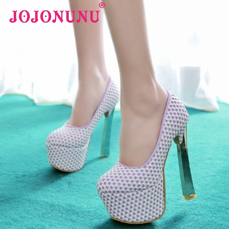 women stiletto high heel shoes platform brand sexy lady quality footwear fashion heeled pumps heels shoes size 33-40 P17663<br><br>Aliexpress