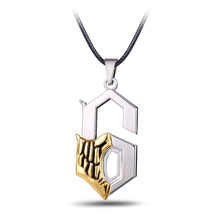 Buy Hot Anime Bleach Metal Necklace Grimmjow Jeagerjaques Pendant Cosplay Accessories Jewelry can Drop-shipping for $1.47 in AliExpress store