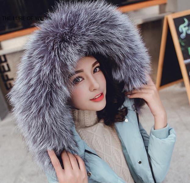 TOP quality new 2015 fashion winter jacket coat warm Long women parka raccoon fur collar hooded Winter coat women slim jacket