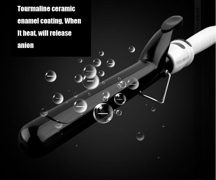 Горячая распродажа 22 - 38 мм профессиональный ионные керамическое покрытие флекси стержни вэйвер волосы щипцы для завивки электрические бигуди ролики палочка W501
