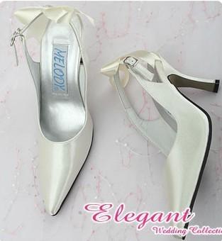 1 pair/lot Free Shipping Custom-made Wedding Bridal Shoes Online Shop MM-063