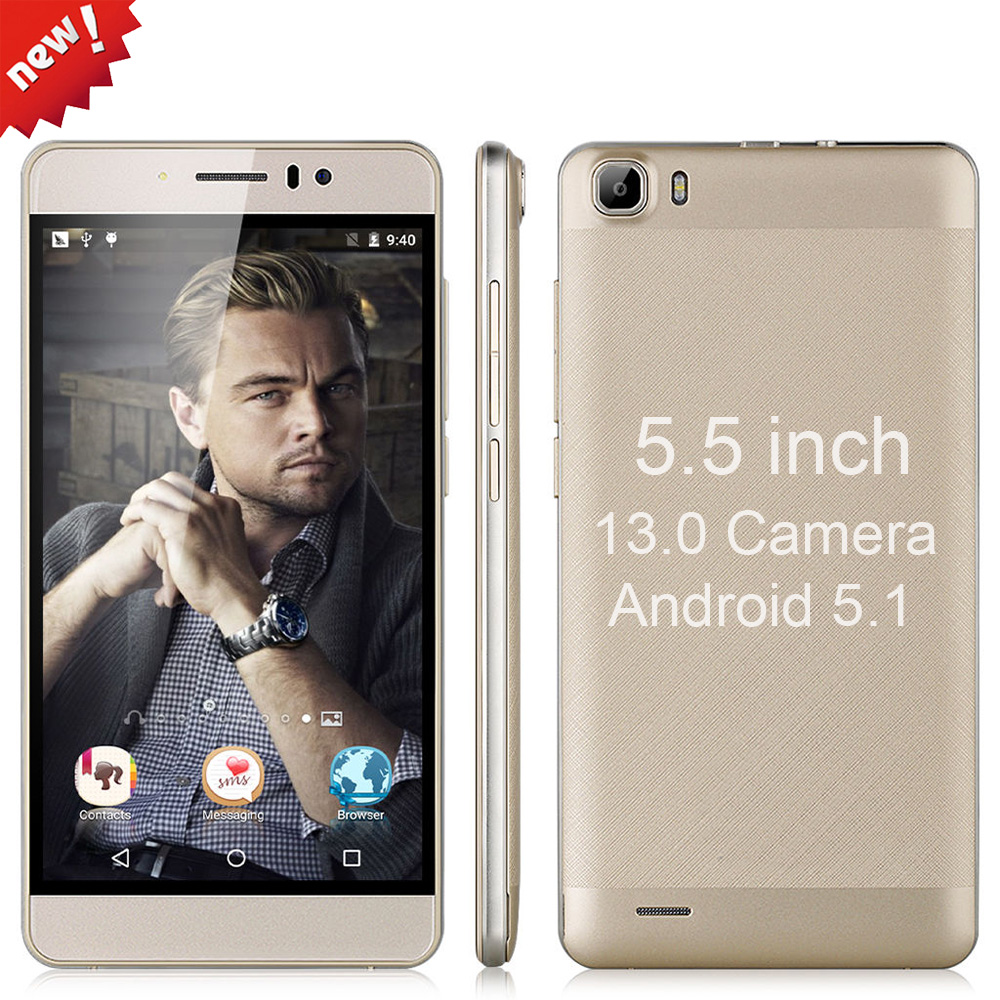 Original YUNSONG YS7pro 13MP camera 5.5 inch screen Smartphone MTK6580 Quad Core Dual Sim Cell Phone GSM/WCDMA 3G Mobile Phone(China (Mainland))