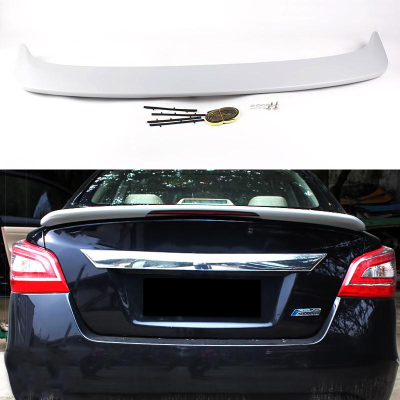 Car Styling Rear Wing Trunk Spolier Decorative Cover For Nissan Teana 2014 2015 ABS Chrome Auto Accessories High Quality<br><br>Aliexpress