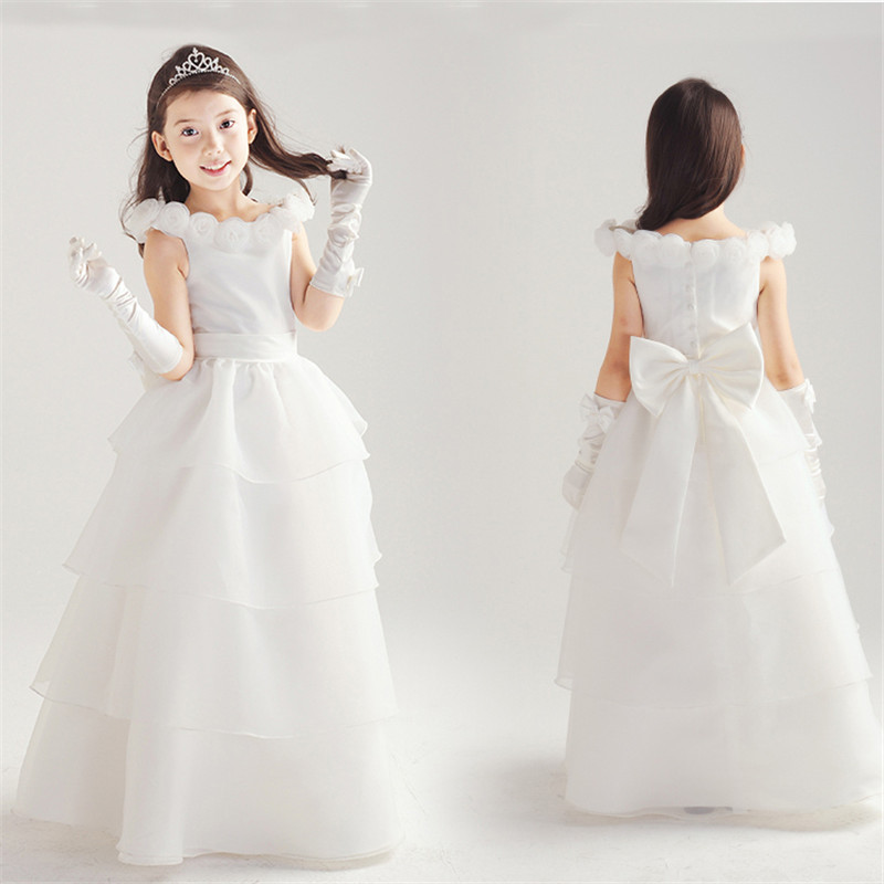 3 to 10 years latest baby girl baptism dress wedding ...