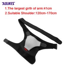 Breathable Shoulder Protection Elastic Bandage Shoulder Supports Kinesiology Sports Tape Single Shoulder Protector z16401