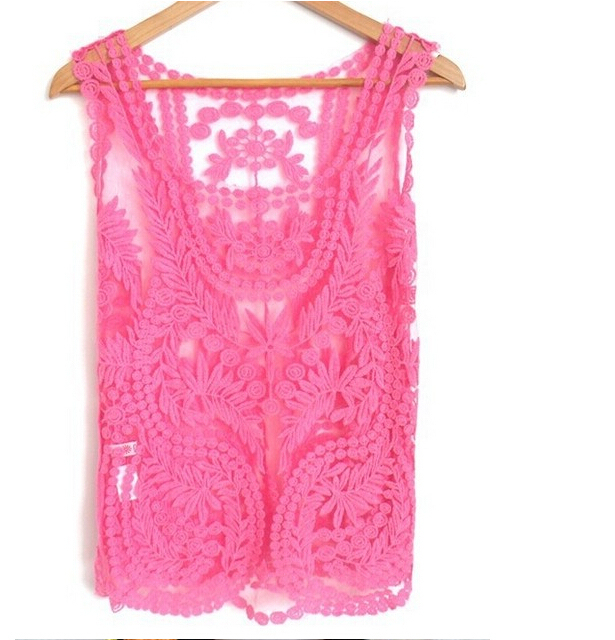 12 color 2013 new  Lace autumn Sexy Lace Women Embroidery  Floral Crochet Blouse Shirt M L XL
