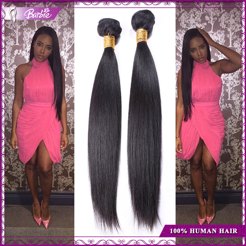 Bele 100% Unprocessed Virgin Hair Brazillian Virgin Hair Straight 100g 4 Bundles Straight Brazilian Hair Human Hair Extensions(China (Mainland))