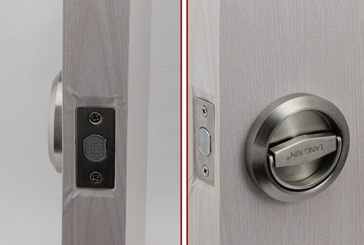 free shipping mechanical 304 stainless steel luxury door