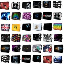 Many Designs Zipper Soft Cover Pouch 7 10 12 13 15 17 Laptop Notebook PC Sleeve Bags Portable Funda Bolsas Computer Accessories
