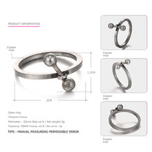 EManco Trendy Vintage Style proste pierścienie dla kobiet i mężczyzn miedzi starożytny brąz Plated pierścionek w stylu retro biżuteria Anneaux wlać les femmes(China)