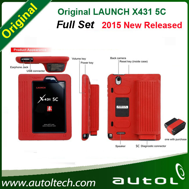 100% Original LAUNCH X431 5C Pro X431 V Replacement Wifi/Bluetooth Tablet Diagnostic Tool Full Set with Excellent quality(China (Mainland))