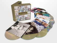 Madonna COMPLETE STUDIO ALBUMS 1983-2008 Box Set New 11 CD China Factory  New Sealed Version(China (Mainland))