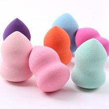 4pcs/lot Makeup Foundation Sponge Blender Blending Cosmetic Puff Powder Smooth Beauty Make Up Tool(China (Mainland))