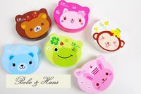 New arrival cute Cartoon contact lenses box & case/ Eyewear Cases & Bags/ Fashion/gift/Wholesale