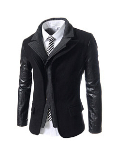 Wholesale Designer Men's Clothing Online New Fake Two Design Mens