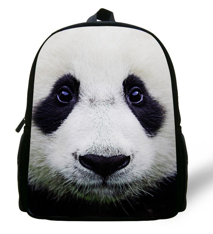 12-inch Mochila Animal Backpack Panda Bag Printing Zo