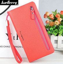 Buy Baellerry Women Wallets High Capacity Luxury Brand Leather Wallet Women Clutch Purse Long Zipper Wallet Female Card Holder for $8.61 in AliExpress store