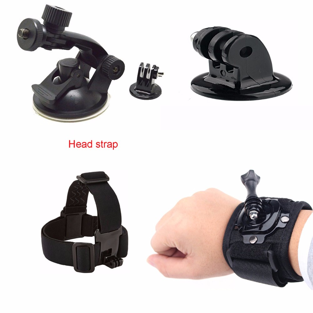 For Gopro Sport camera accessories chest strap mount clamp kit for Gopro SJCAM go pro accessories xiaomi yi action camera 48