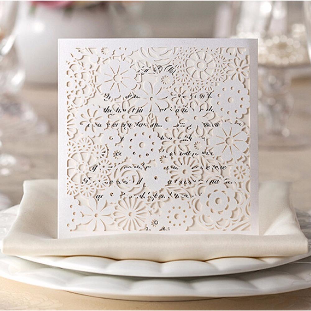lace wedding invitation kits - 28 images - burlap and lace wedding ...