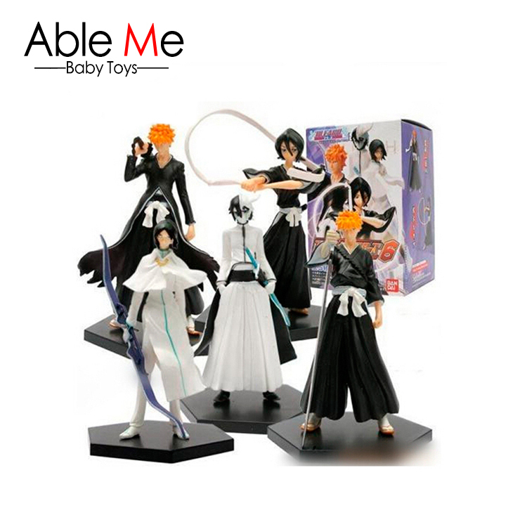6sets/lot 14cm Action Figure Anime Japanese Figures Hot Brinquedos Scale Models juguetes Doll Gift For Children Kids Toys(China (Mainland))